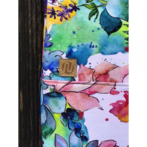 NANUK Aquarel Flowers Leggins - logo