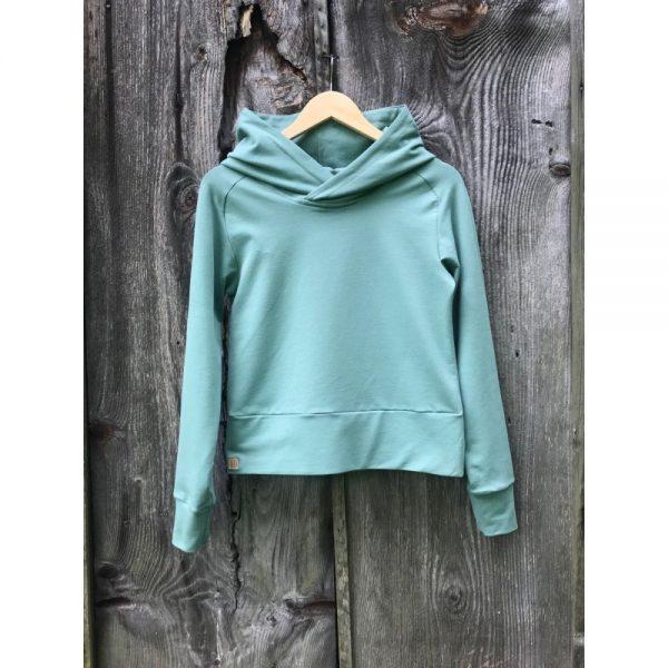 NANUK Organic Old Green Hoodie - hanger