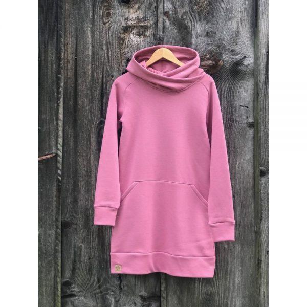 NANUK Old Pink Long Hoodie - hanger