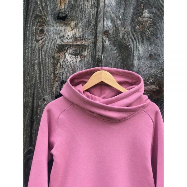 NANUK Old Pink Long Hoodie - hood