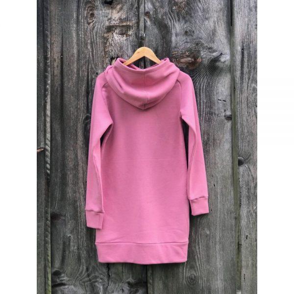 NANUK Old Pink Long Hoodie - back