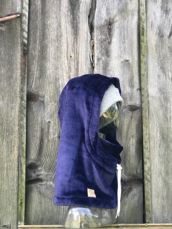NANUK Blue Velvet Hood - beanie