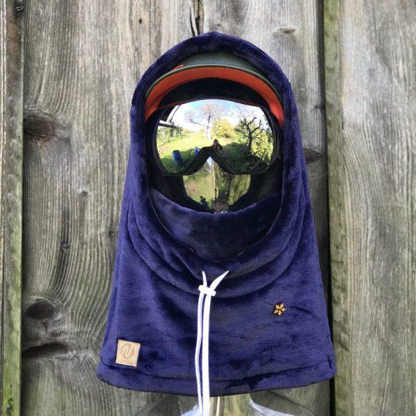 NANUK Blue Velvet Hood - helmet