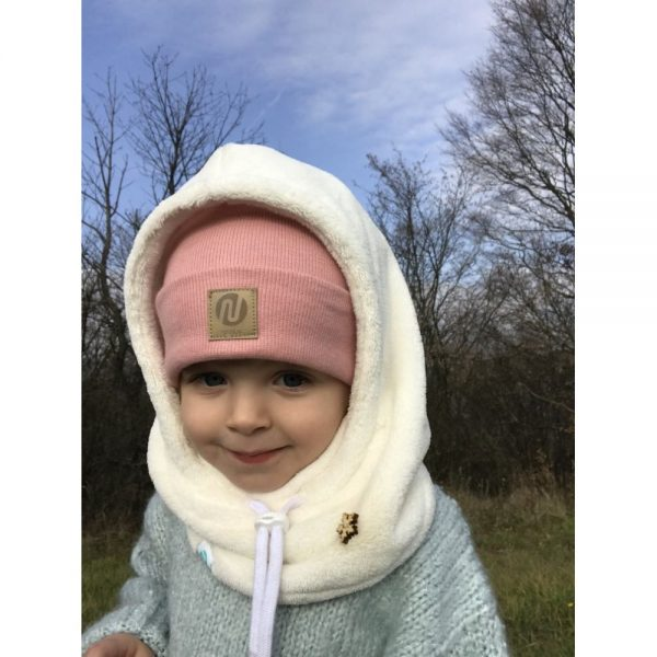 NANUK Baby White Hood - face