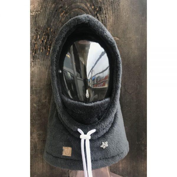 NANUK Baby Dark Grey Hood - front