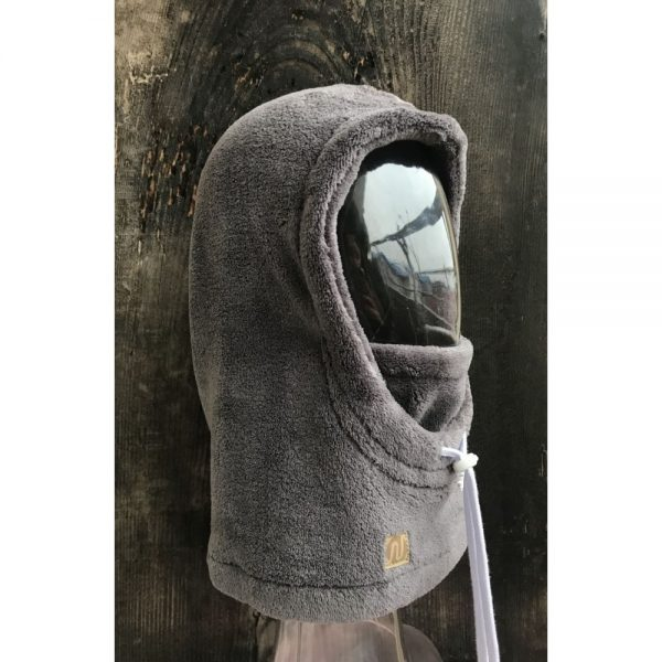 NANUK Baby Grey Hood - side