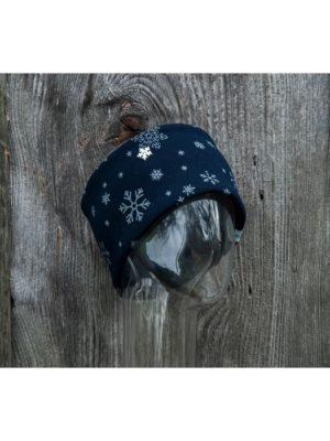 NANUK Snowflake Glitter Blue - side
