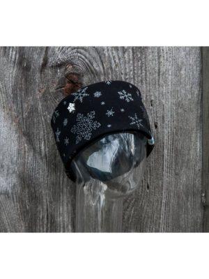 NANUK Snowflake Glitter Black - side
