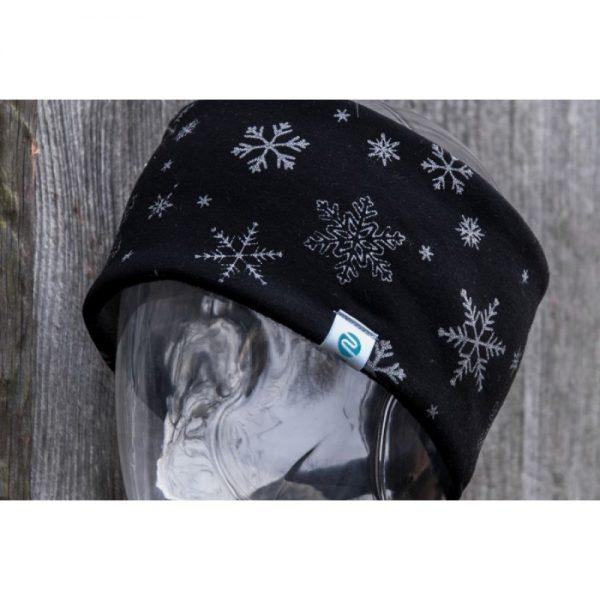 NANUK Snowflake Glitter Black - detail