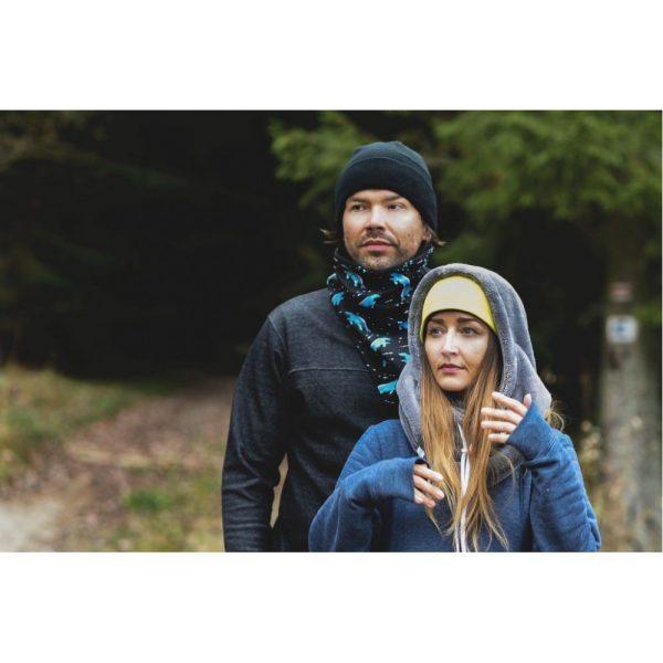 NANUK Light Grey Hood - wear