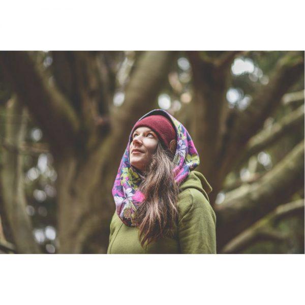 NANUK Flower Power Hood - wear