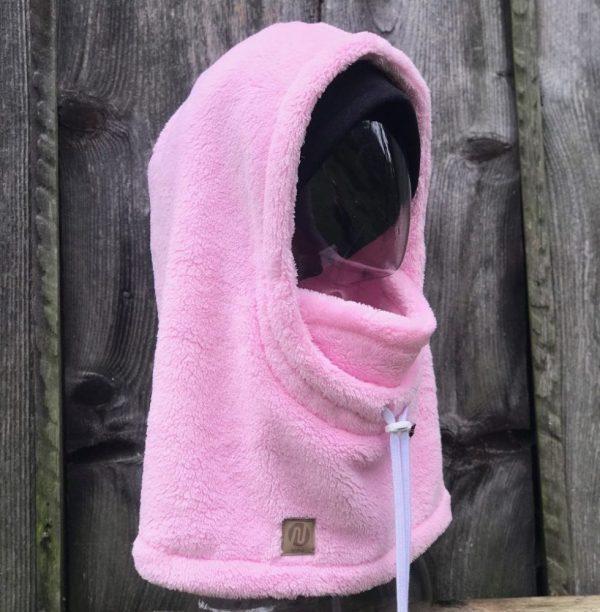 NANUK Baby Pink Hood - side