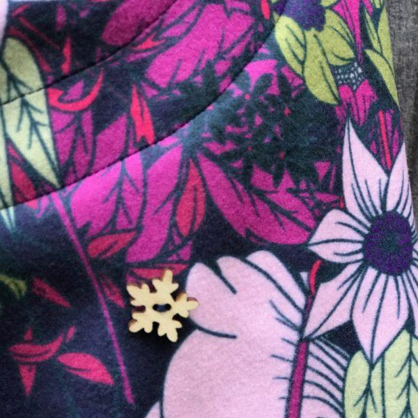 NANUK Flower Power Hood - Detail